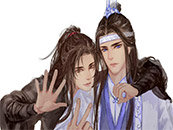 魔道祖師520插畫高清壁紙