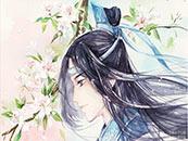 魔道祖師藍(lan)忘機溫柔儒雅人物(wu)動漫壁紙(zhi)
