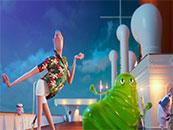精灵旅社3德古拉和史莱姆舞蹈高清壁纸
