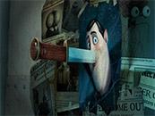 精灵旅社3被刺穿的德古拉伯爵照片高清动漫壁纸
