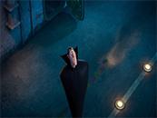 精灵旅社3德古拉惊讶表情搞笑高清桌面动漫壁纸