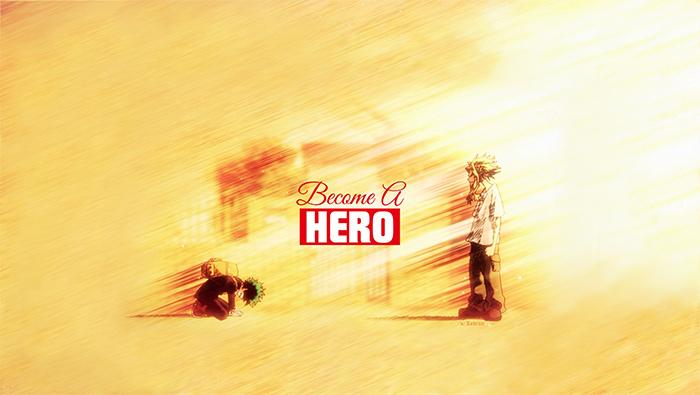《我的英雄学院》高清简约1080p壁纸