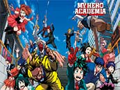 《我的英雄学院》欢乐大家庭高清壁纸
