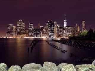 美国纽约都市建筑风光桌面壁纸第二辑