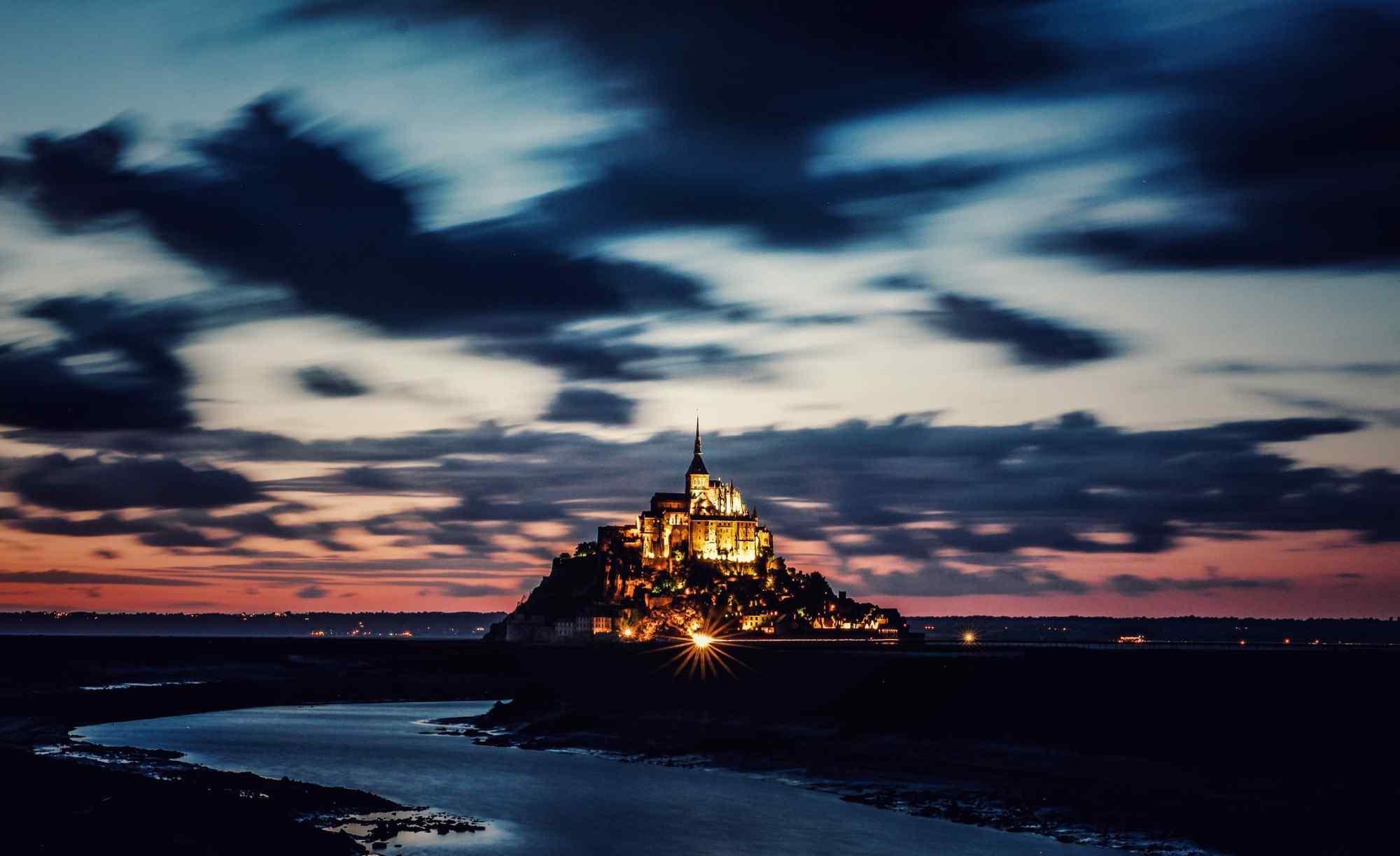 最童话的城堡之圣米歇尔山城堡