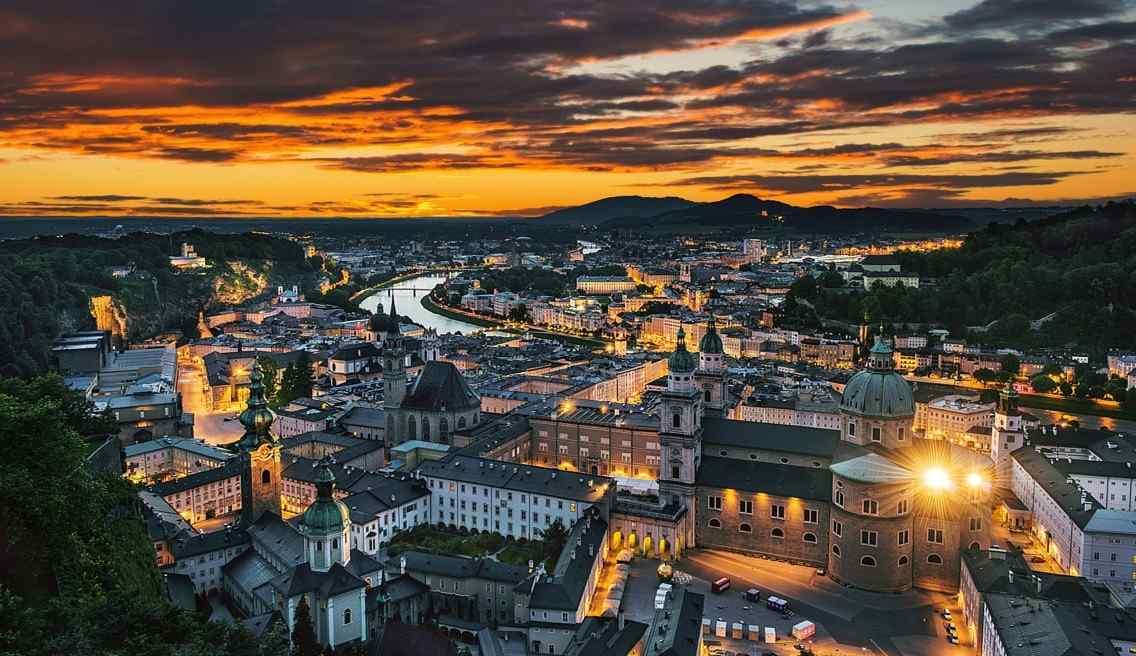 最童话的城堡之奥地利萨尔茨城堡