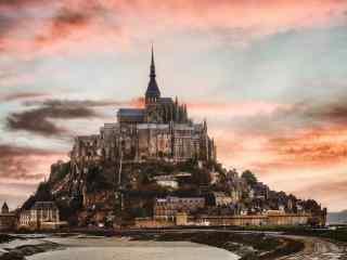 最童话的城堡之法国圣米歇尔山城堡