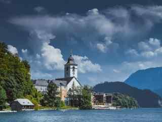 最童话的城堡之湖光山色的奥地利萨尔茨城堡