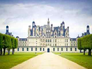 最童话的城堡之卢瓦尔河香波城堡