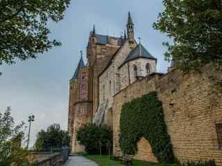 最童话的城堡之长满常春藤的霍亨索伦城堡
