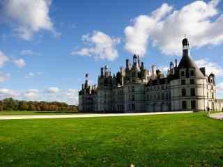 最童话的城堡之法国卢瓦尔河香波城堡