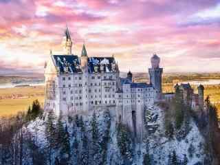 最童话的城堡之德国新天鹅城堡桌面壁纸
