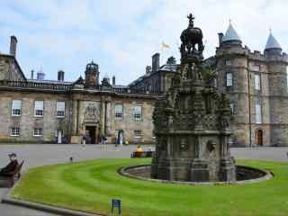 苏格兰首府爱丁堡城堡图片桌面壁纸