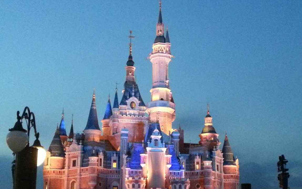 梦幻迪士尼城堡高清图片桌面壁纸