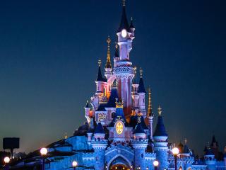 迪士尼乐园高清图