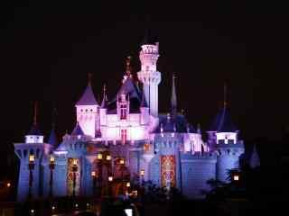 迪士尼浪漫城堡高