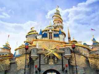 迪士尼经典城堡高