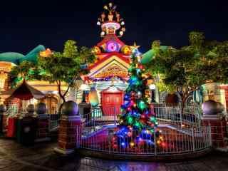 迪士尼城堡唯美图
