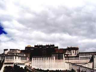 唯美西藏布达拉宫