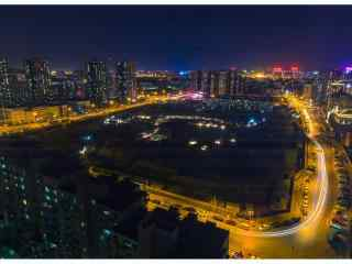 北京帝都夜景桌面壁纸