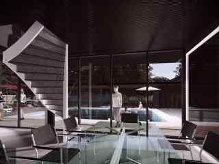 创意建筑未来式桌