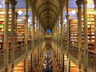 哥本哈根大学图书馆桌面壁纸