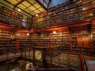 欧洲图书馆高清桌面壁纸