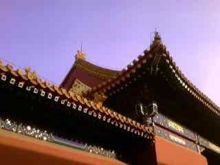 北京故宫房檐图片