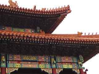 美丽的北京故宫房