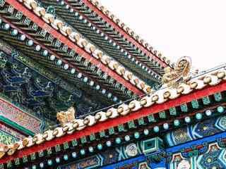 北京故宫美丽的房