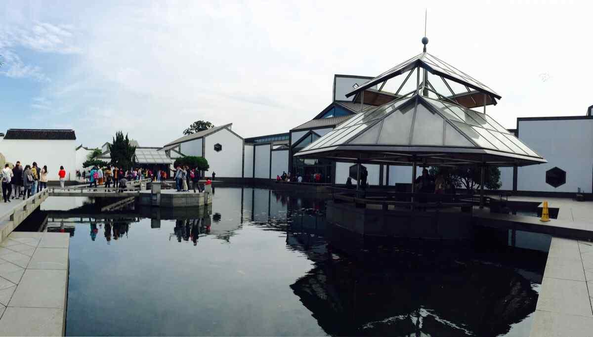 苏州博物馆之建筑美图壁纸