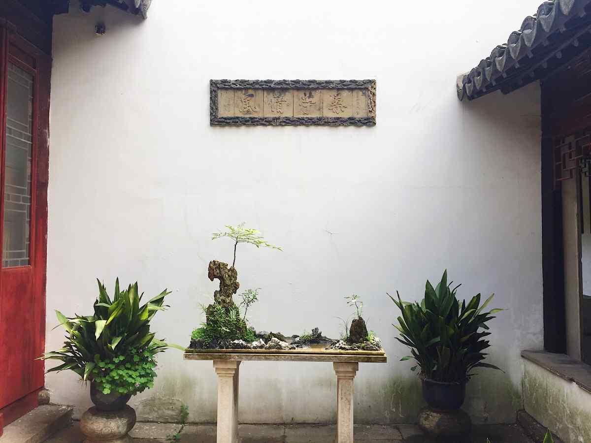 苏州博物馆内景图片壁纸