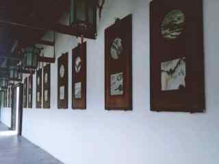 苏州博物馆唯美壁