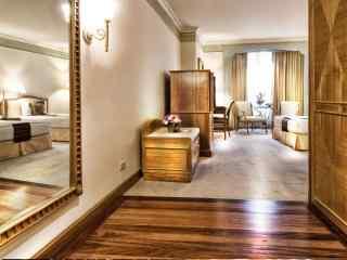 国外酒店卧室室内