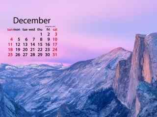 2016年12月日历之
