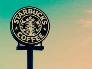星巴克创意标志logo桌面壁纸