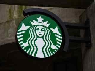 星巴克灯箱logo图片桌面壁纸
