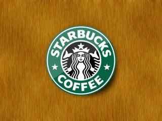 星巴克创意设计logo标志图片简约桌面壁纸