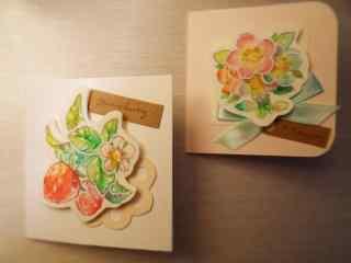 唯美创意的花朵图案贺卡图片