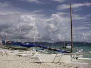 菲律宾长滩岛唯美风景图片