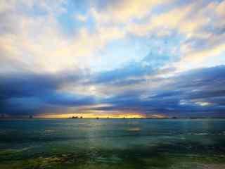 菲律宾长滩岛自然风光桌面壁纸
