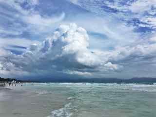 菲律宾长滩岛清新自然风光壁纸