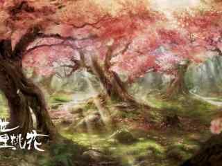 电影三生三世十里桃花折颜的十里桃林