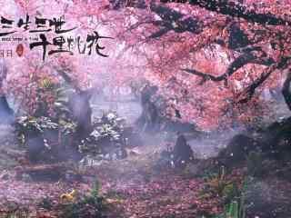 电影三生三世十里桃花风景剧照