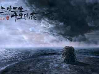 电影三生三世十里桃花寂静的风景壁纸