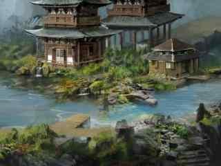 轩辕剑之汉之云场景海报图片