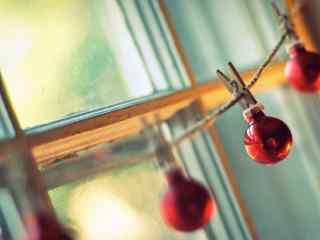 文艺小清新圣诞节装饰图片桌面壁纸