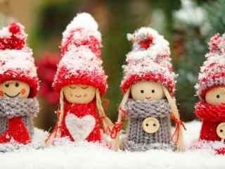 圣诞节节日图片之可爱的娃娃