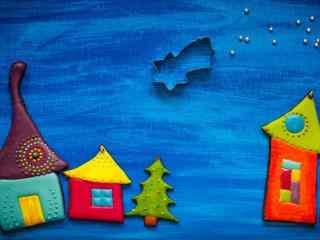 可爱圣诞节图片桌面壁纸