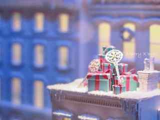 文艺唯美的圣诞节礼物摄影图片